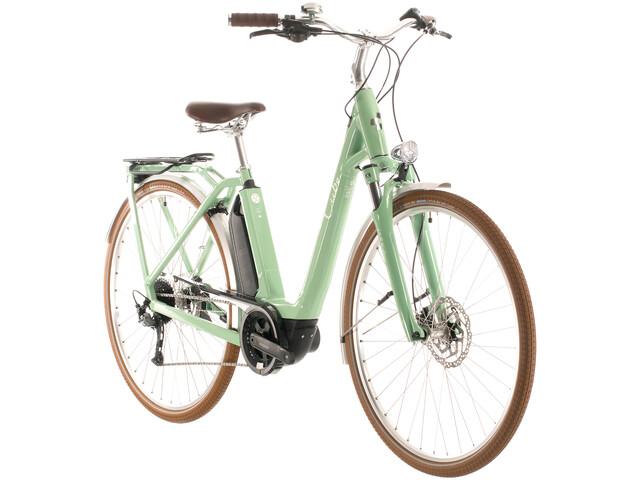 Cube Ella Ride Hybrid 500 Entrada Fácil, green'n'white